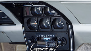 1978 Chevrolet C3 Corvette Pace Car Interior Gauges