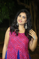 Srushti in beautiful Pink Sleeveless Dress Cute Actress Dimples ~  Exclusive 037.JPG