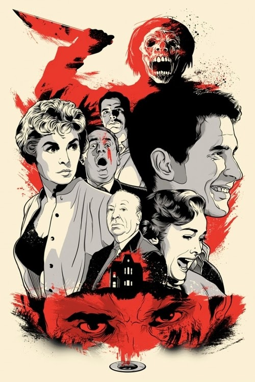 06-Psycho-Film-and-TV-Series-Posters-US-Artist-Joshua-Budich-www-designstack-co