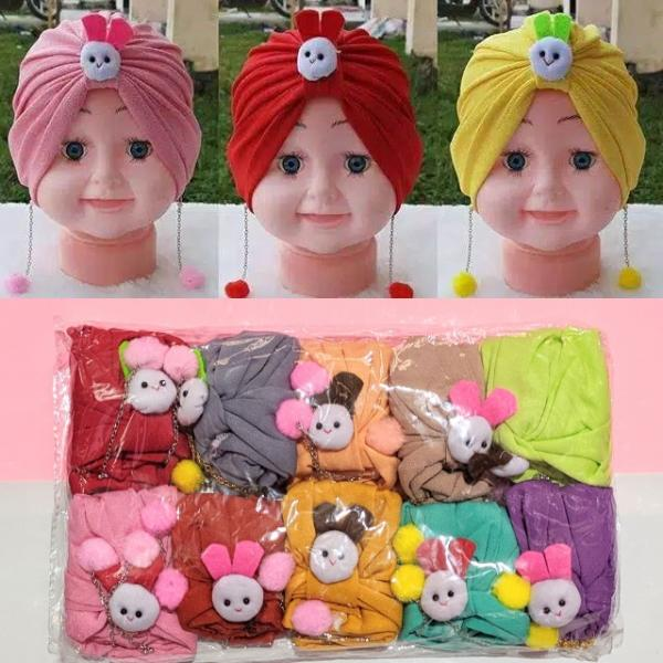 Turban Anak Anting Boneka FA-074