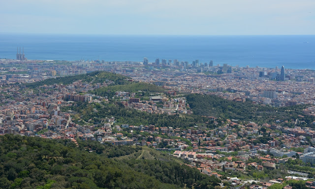 Tibidabo hill views