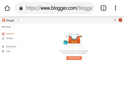 mobile se blog kese banaye ?