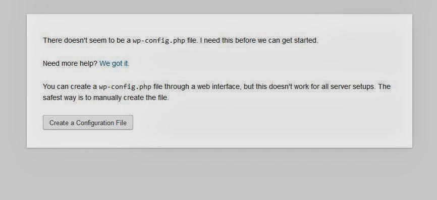 setup admin website