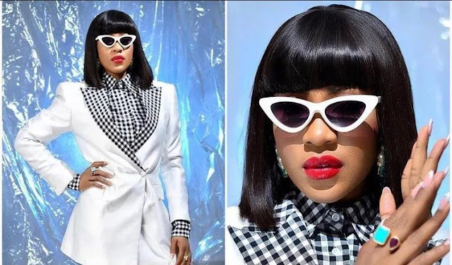 Mad o! Check Out BB Naija Erica's Reaction After Cardi B Dropped A Comment On Her Page
