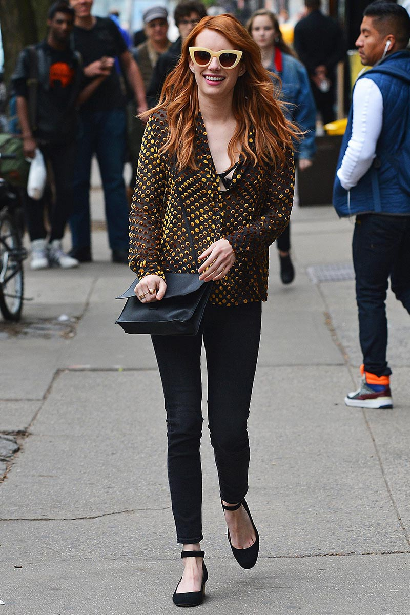 Emma Roberts  Street Style {Cool Chic Style Fashion}
