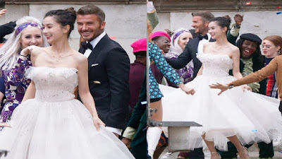 Menikahi Artis China, Benarkah David Beckham 'Poligami'
