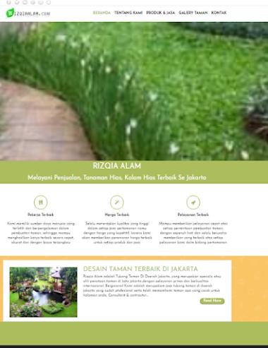 Website Tukang Tanaman Hias