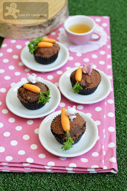 mini milo mud dirt cupcakes