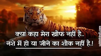 swag royal attitude status in hindi