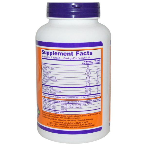 Now Foods, Super Omega 3 - 6 - 9 omega 3 gdzie kupić iherb.com kupon OWI469