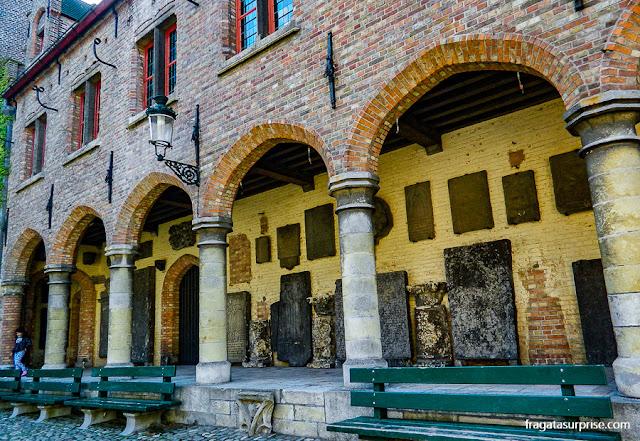 Gruuthuse Binnenhof, Bruges, Bélgica