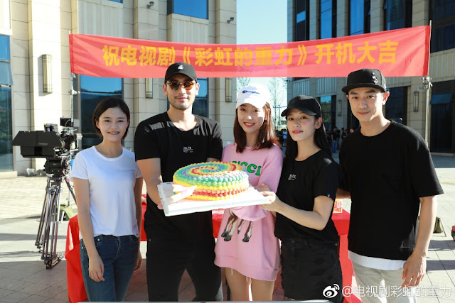 Cai Hong De Zhong Li Godfrey Gao booting ceremony