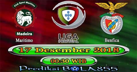 Prediksi Bola855 Maritimo vs Benfica 17 Desember 2018