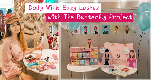 10 Seconds Dolly Wink Easy Lashes!! | The Butterfly Project