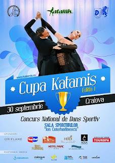 Invitatie la dans: Cupa Katamis Craiova