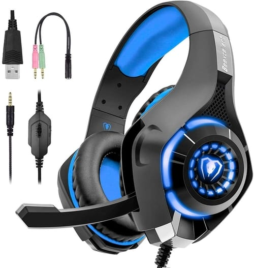 Review Beexcellent Gaming Headset for PS4 Xbox One PC