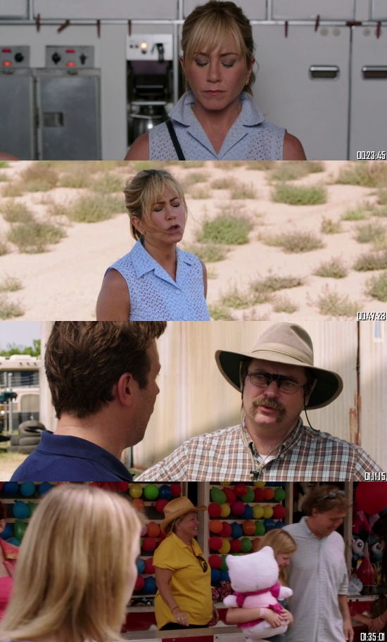 We are The Millers 2013 BluRay 720p 480p Dual Audio Hindi English Full Movie Download