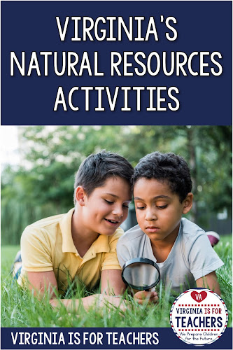 Alyssa Teaches is sharing some of her favorite activities for teaching the Virginia's natural resources science unit in 4th grade!