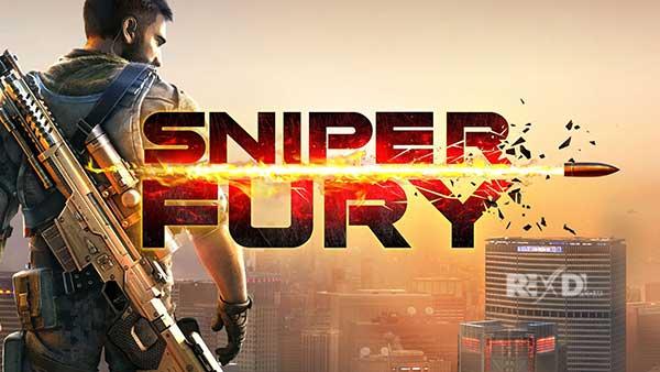 تحميل Sniper Fury Apk مهكرة الإصدار الاخير