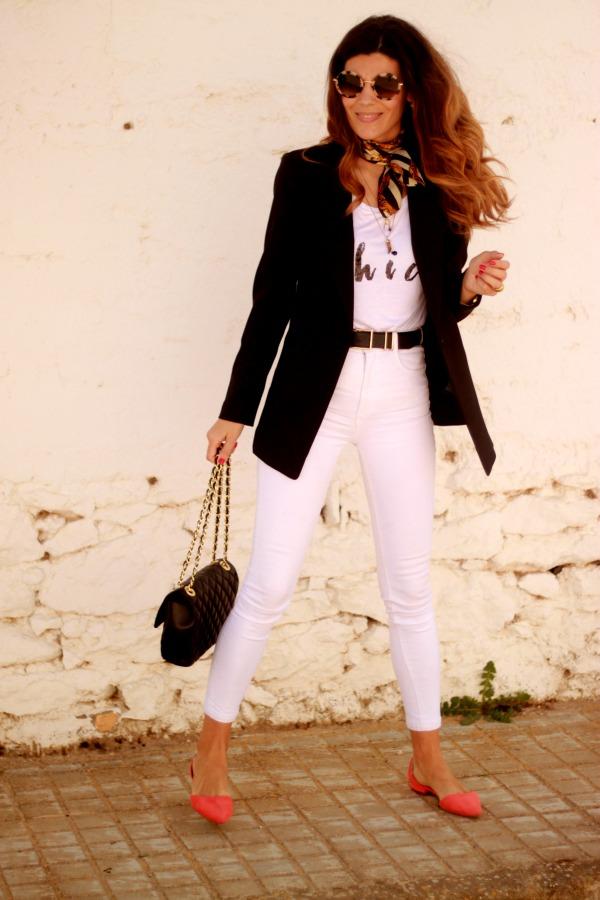 outfit diario, look con basicos