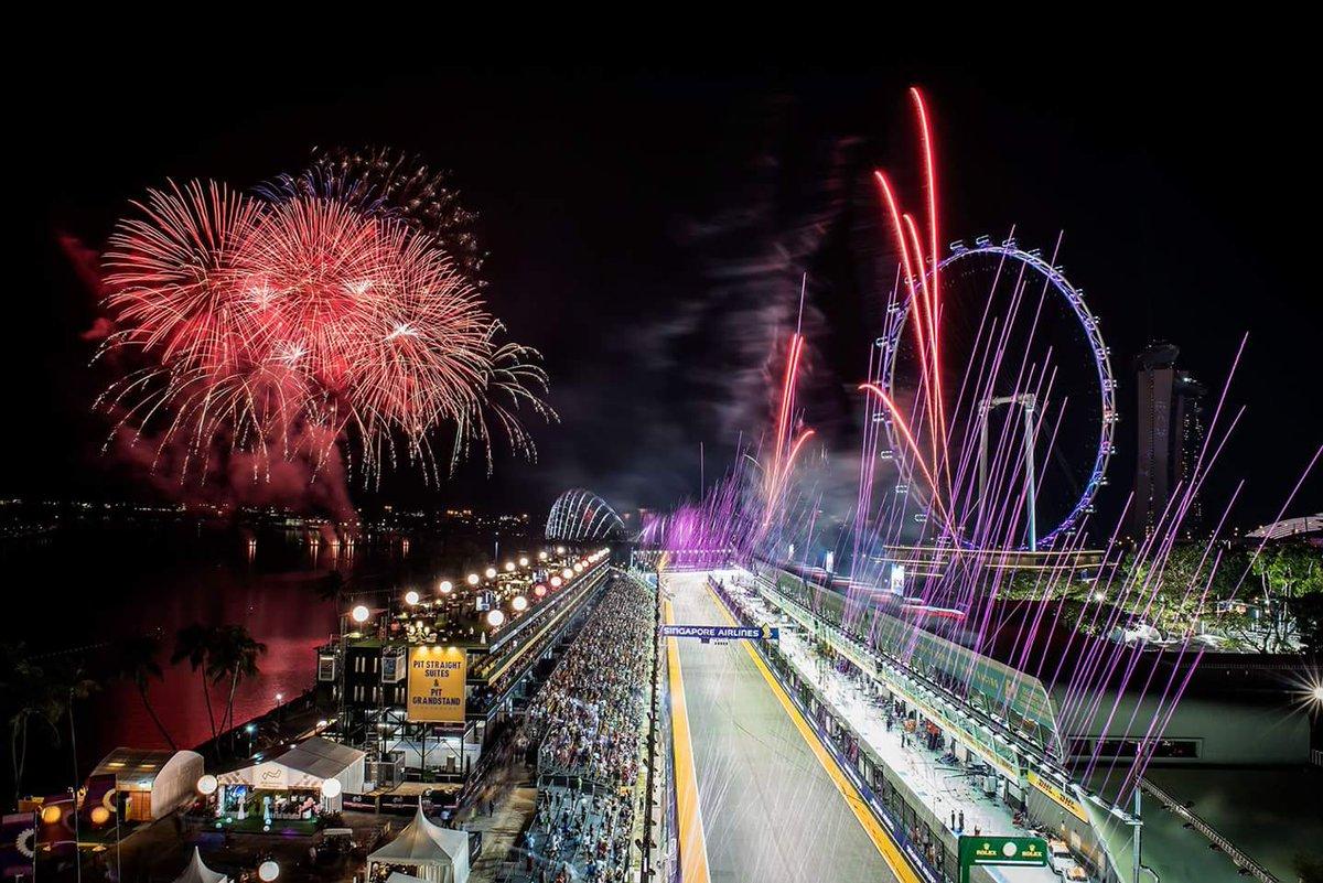 Resultado de imagen de gp singapur noria