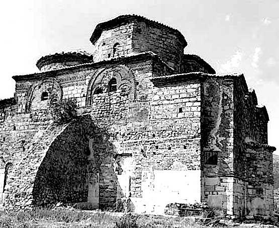 Древняя церковь святого Николая в Месопотаме (Албания)