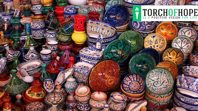 Handicrafts in Morocco