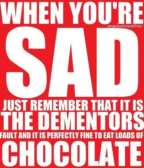 When you're sad just remember that it is the dementors fault