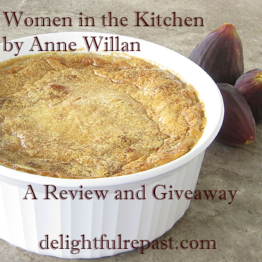 Spiced Rice Pudding - Women in the Kitchen Review and Giveaway / www.delightfulrepast.com