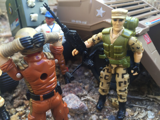 1988 Repater, Mean Dog, Sgt. Slaughter, Hardball, 1990 Sonic Fighters Viper