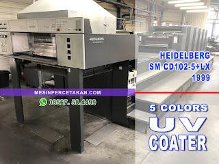 Heidelberg Speedmaster SM CD 102 5-LX2 Coater