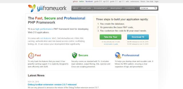 php,framework,yii2 framework,yii framework,php5,php7