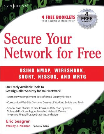 Secure Your Network for Free, Syngress