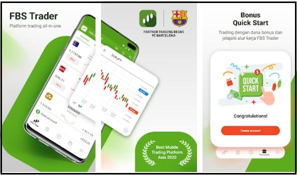 Aplikasi FBS Trader