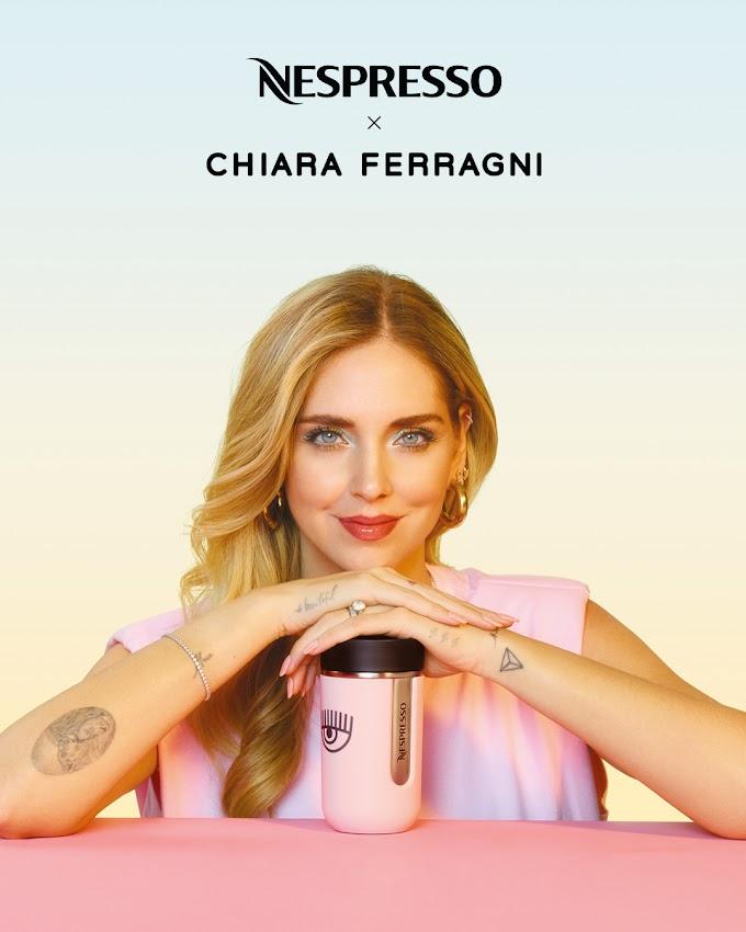 Η Nespresso συνεργάζεται με την Chiara Ferragni  για μία δροσιστική καλοκαιρινή συλλογή