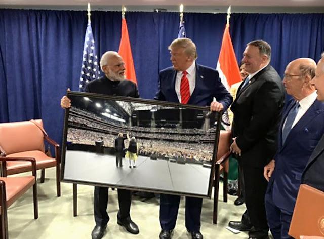 When Donald Trump called PM Narendra Modi father of India