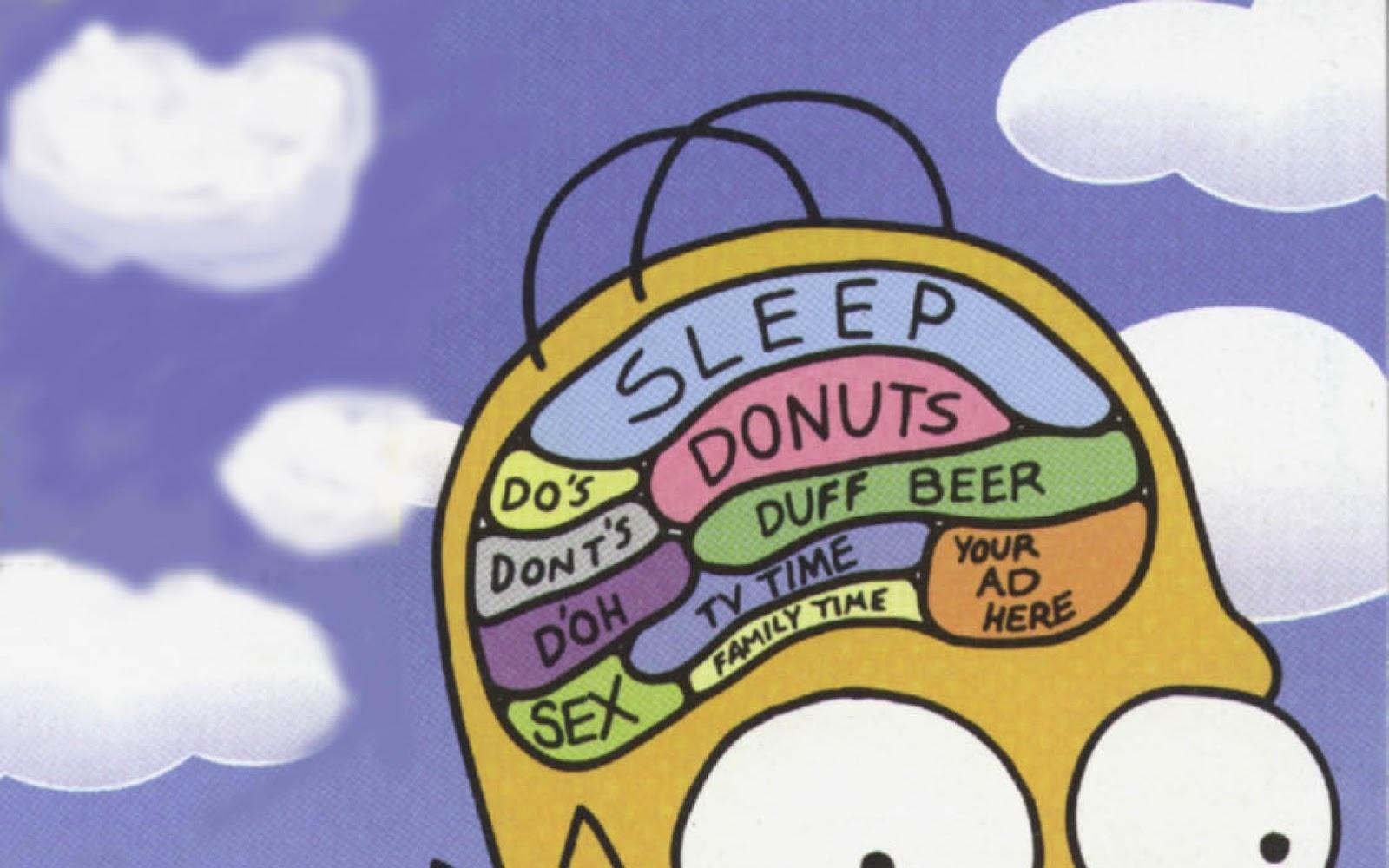 Homer Simpson Gehirn