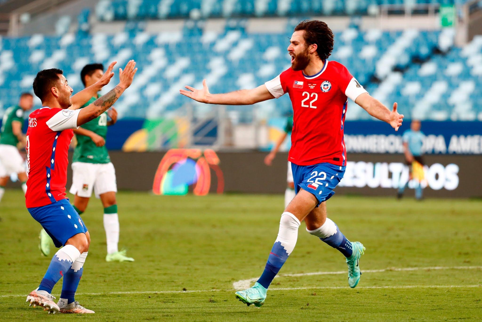 Chile y Bolivia en Copa América 2021, 18 de junio