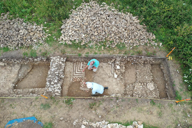 Roman villa unearthed in southern England