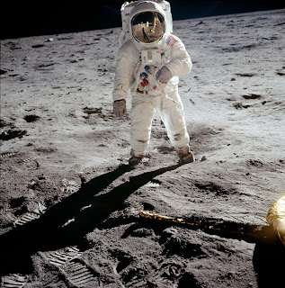 'Buzz' Aldrin, Apollo 11 (Wikimedia commons)