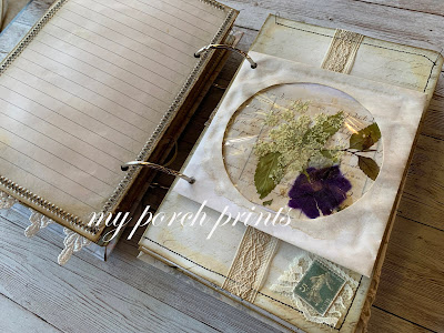 What to do with a junk journal from My Porch Prints