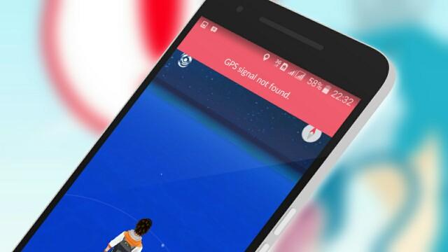 "Pokemon GO ""GPS signal not found"""