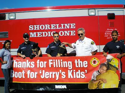 Shoreline Area News Shoreline Firefighters Fill The Boot