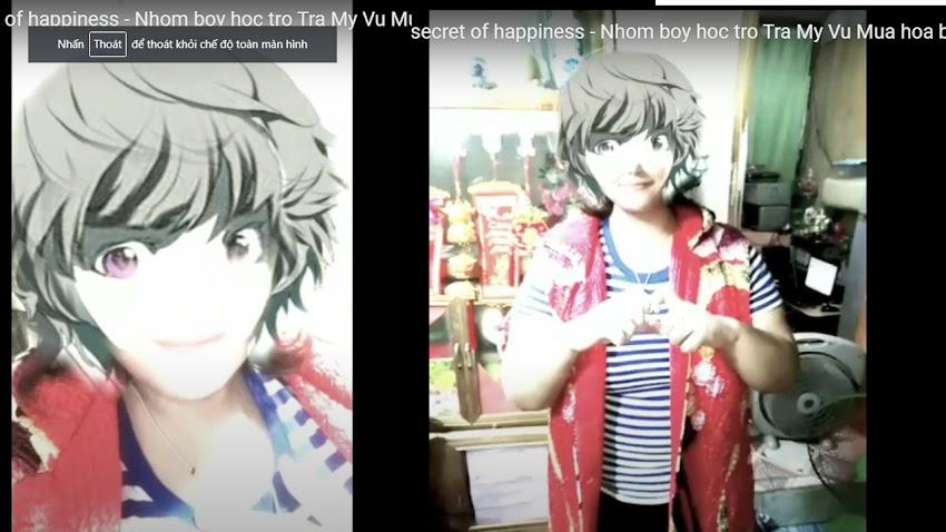 Bí quyết hạnh phúc - The secret of happiness - Nhom boy hoc tro Tra My Vu Mua hoa bach hop