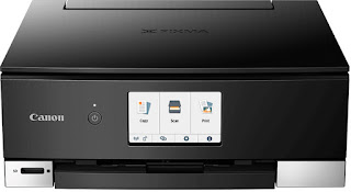 One reckoner printer for your family alongside modern twenty-four hr menses vogue Canon PIXMA TS8250 Drivers Download, Review And Price
