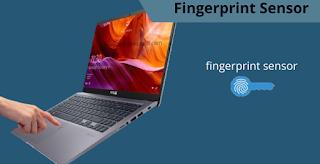 Laptop dengan fitur finger print sensor