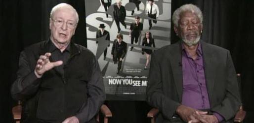 Morgan Freeman Falls Asleep