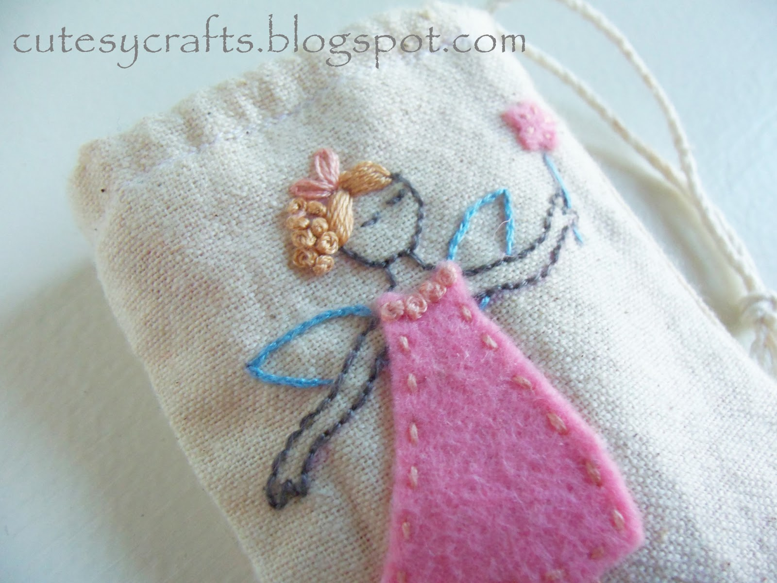 Tooth Fairy Bag Pattern Free