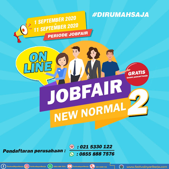 Job Fair New Normal (Online)