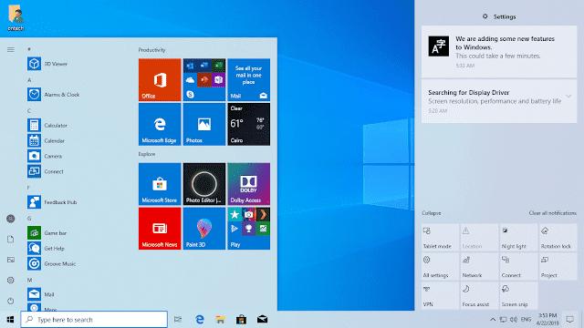 تحميل وتثبيت ويندوز 10 تحديث مايو 2019 إصدار 1903 32/ 64  بت